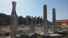 Roman ruins in Sebastia