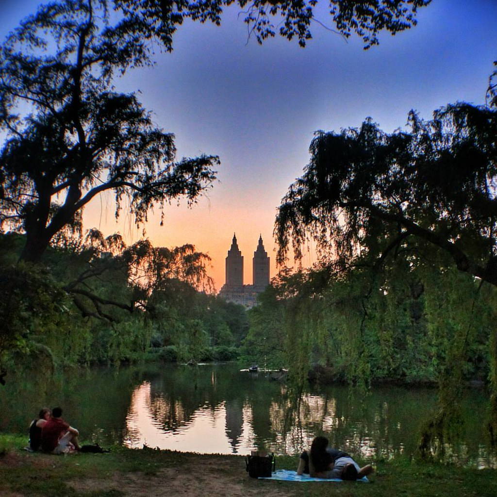 Sunset in Central Park  #Newyork #nyc #newyorkcity #manhattan #Photo #Photography #Travel #travelgram #trip #iloveny #ilovenyc #newyorkphoto #instacool #instanewyork #mynyc #bigapple #thebigapple #igers #centralpark #Park #Sunset #colorful #colors #love #