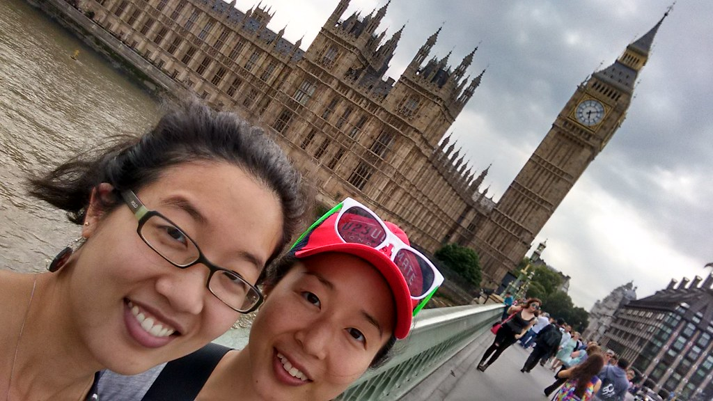 My sis and me at Big Ben