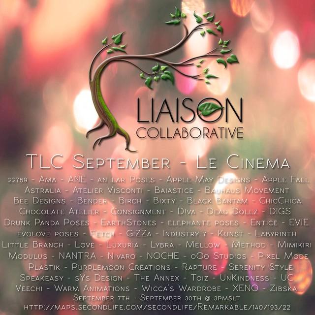 The Liaison Collaborative - September - Le Cinema