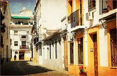 Dans le quartier de San Basilio, Cordoba, Andalucia, Espana