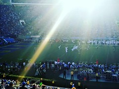 Stanford vs UCLA at the Rose Bowl. #canon #canon_photos #johnkeraphotography #landscape #sports #game #football #losangeles #california #outside #outdoors #day #photographer #photography #travel #ncaa #ucla
