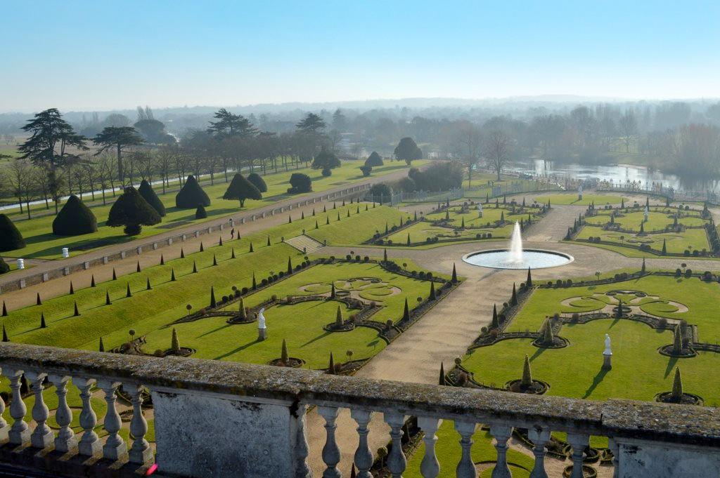 Hampton Court Privy Garden. Credit Matt Brown, flickr