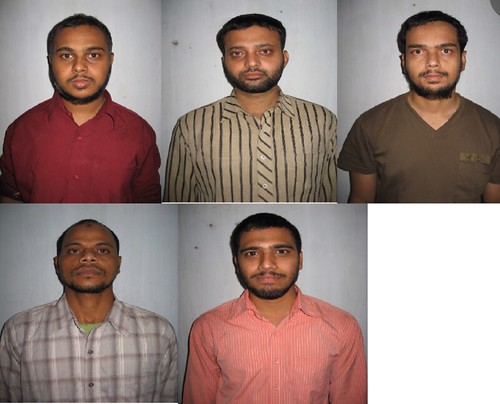 Mohammed Viqaruddin, Mohammed Haneef, Amjed Ali, Riyaz Khan and Izhar Khan. All five killed in encounter