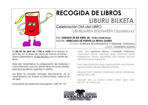 CARTEL-RECOGIDA DE LIBROS