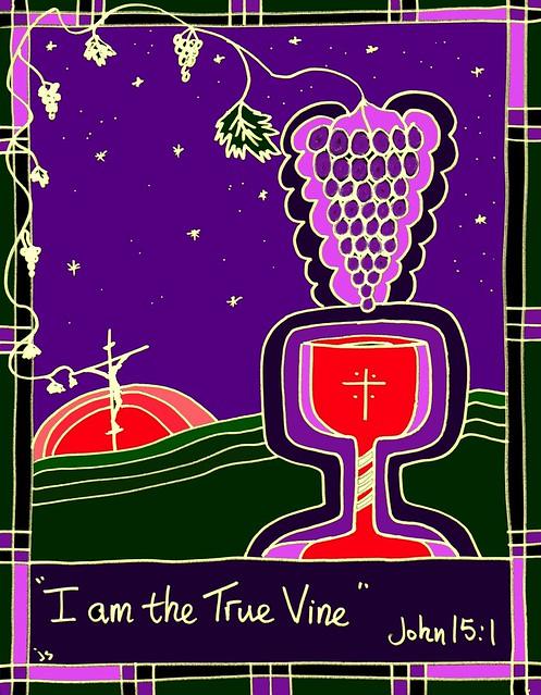 True Vine Glass design
