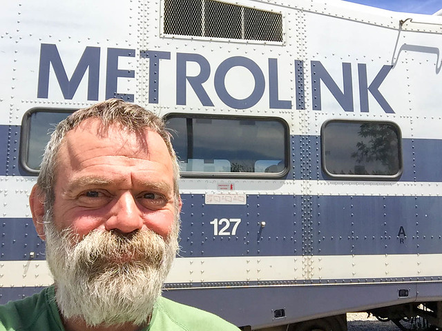 Metrolink and shaggy marmot
