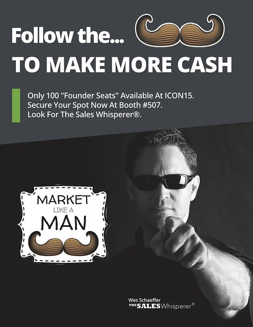 The Market Like A Man Flyer Front