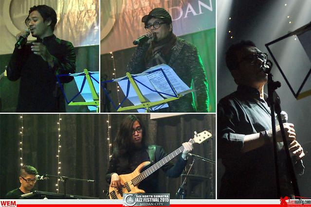 North Sumatra Jazz Festival 2015 - KadriJimmo - Keenan Nasution