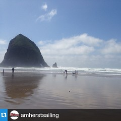 #Repost @amherstsailing・・・Beautiful day in Oregon, can't wait to sail tomorrow.