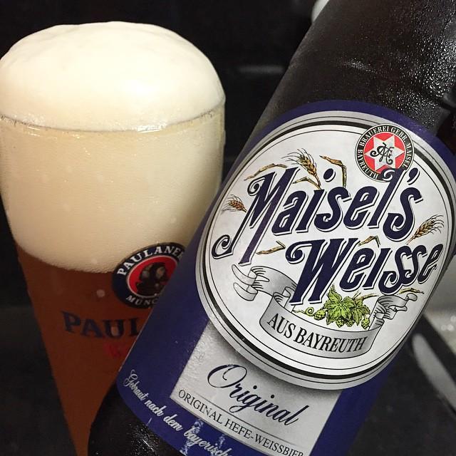 Quando vc pensa em que estilo escolher e não decide, vamos de coringa, cerveja de trigo... #beer #bier #birra #cerveja #cerveza #instabeer #beergasm #beerporn #beerbreak #beerfamily #beerlovers #beerfriends #craftbeer #craftbier #maisels #weisse #germany