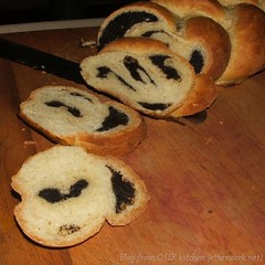Romanian Festive Braid with Poppy Seed Filling