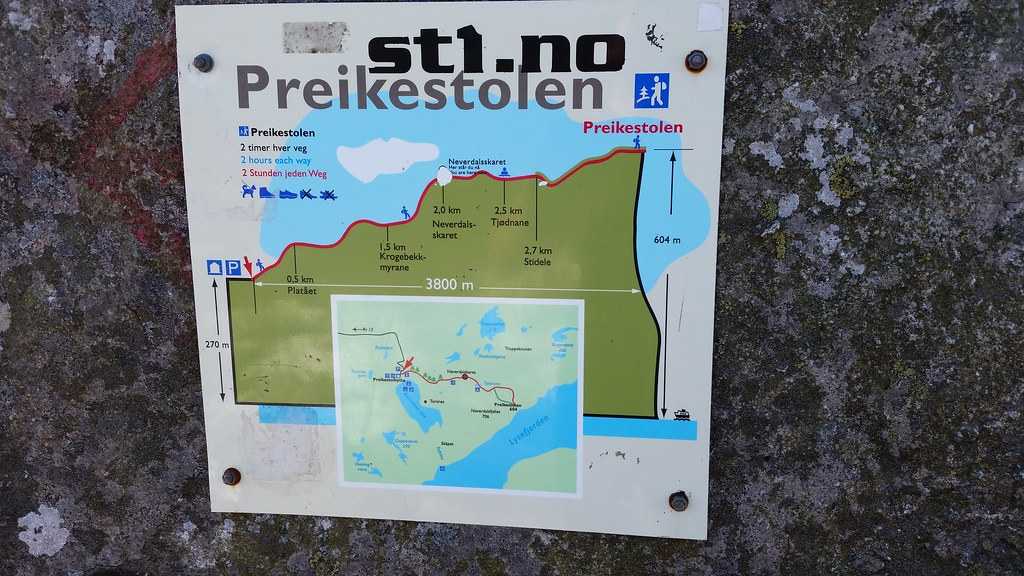 Preikestolen Route