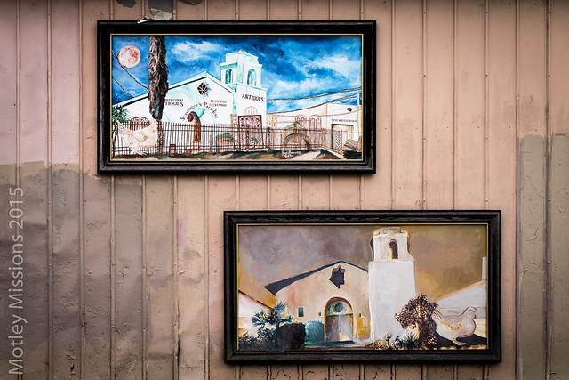 two murals