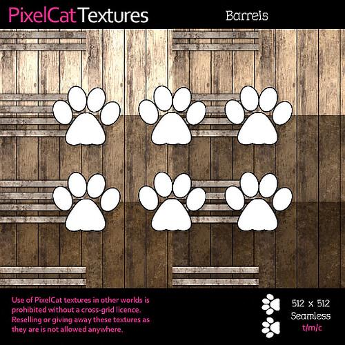 PixelCat Textures - Barrels