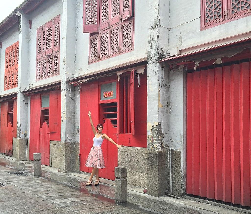 Rebecca in Macau