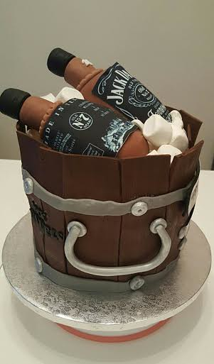 Jack Daniels Cake by Sugar Passion