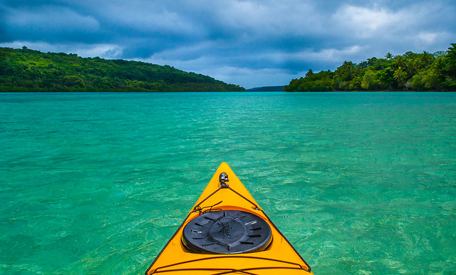 Kayaking through The Domain  |  Vanuatu