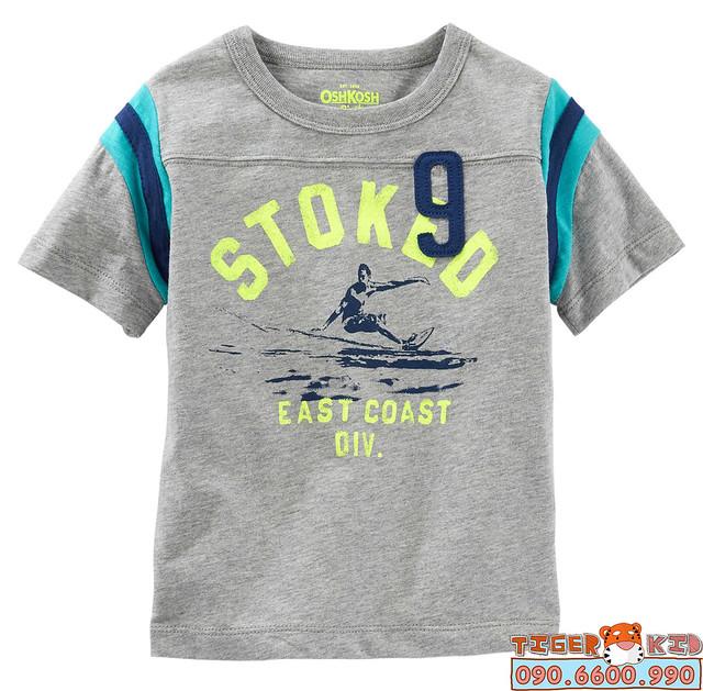 Quần áo trẻ em, bodysuit, Carter, đầm bé gái cao cấp, quần áo trẻ em nhập khẩu, Áo thun Oshkosh nhập Mỹ 12M-5T