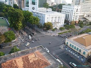 TPHCM - Ngã tư Thống Nhất-Đinh Tiên Hoàng / Tôn Đức Thắng - Tòa nhà Shell