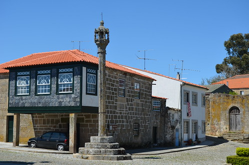 The old village center