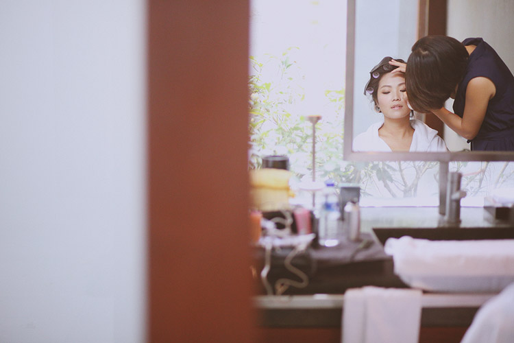 婚禮攝影-化妝