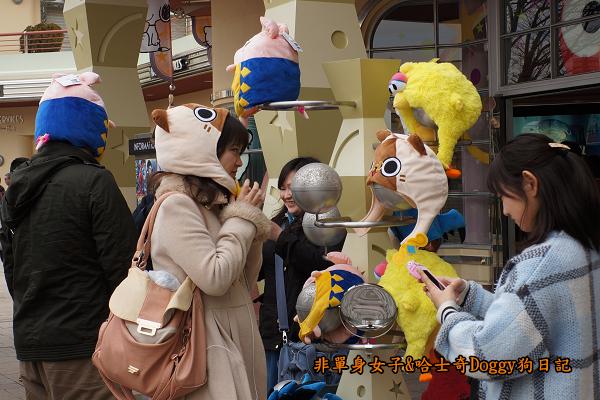 日本大阪環球影城哈利波特進擊的巨人04