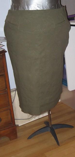 Burda Plus Magazine E909 Spr 2006 409A Skirt