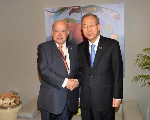 Secretario General de la OEA se reunió con el Secretario General de la ONU