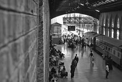 Railway Station Lahore B&W