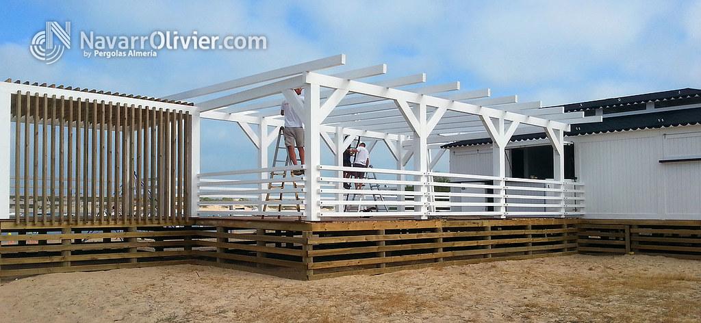 construccin en madera - Pergola Madera