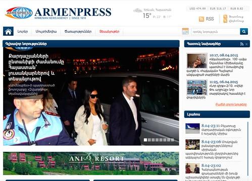 Screen Shot Armenpress