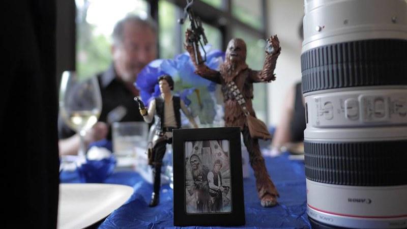 Star Wars-themed wedding from @offbeatbride