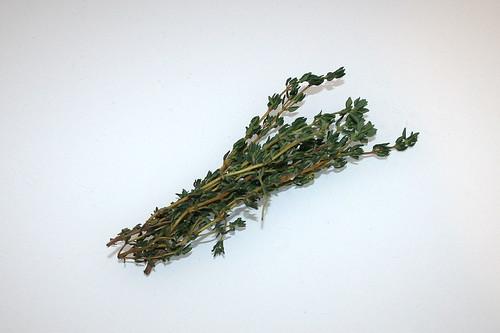 06 - Zutat Thymian / Ingredient thyme