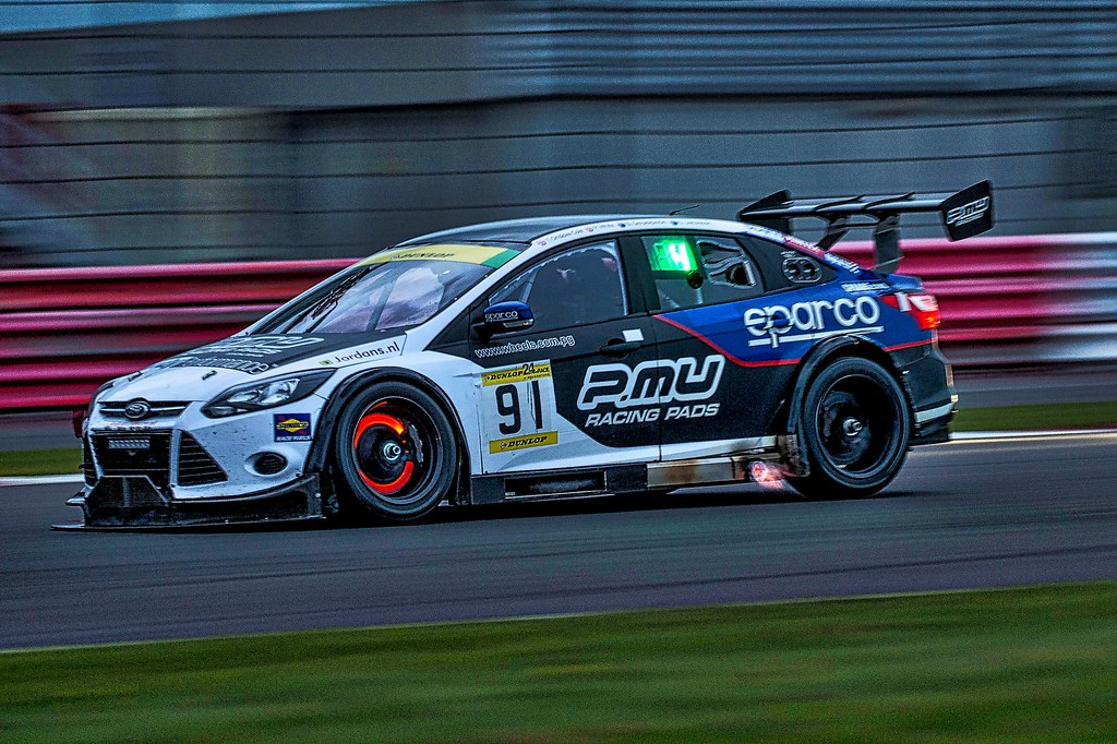 Marc Cars Australia Ford Focus V8 during the Dunlop 24 Hour race ...
