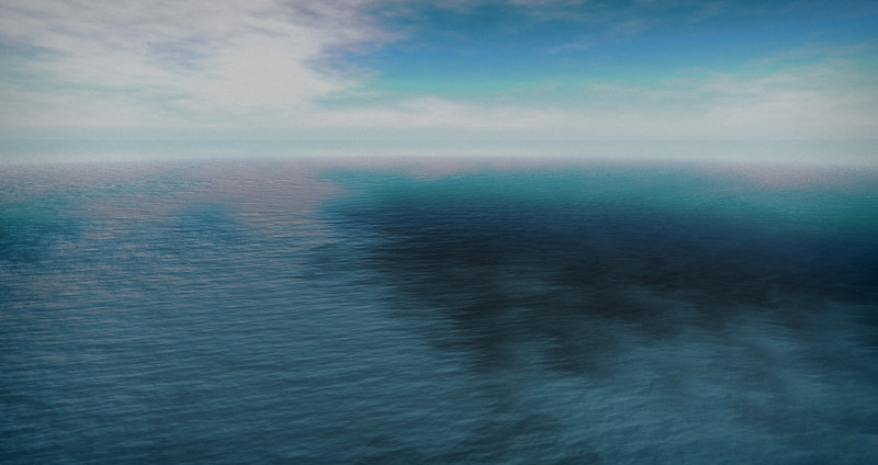 I love the ocean where it meets the sky