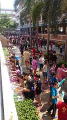 songkran festivities at school