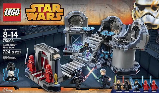 絕地與西斯的最終決戰!LEGO 75093《星際大戰》死星最終對決
