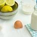 Making lemon pancakes