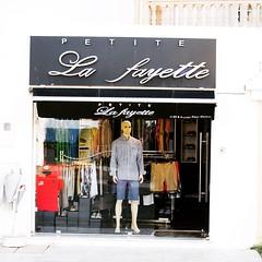 Süß. Das kleine La Fayette in #Hammamet