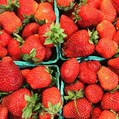Strawberry...jam? Wine? Pie? Oh my.