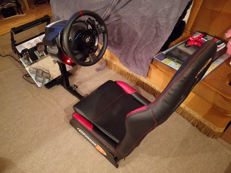 foudemobiles arrivage volant thrustmaster t500 rs pour project cars sur ps4. Black Bedroom Furniture Sets. Home Design Ideas