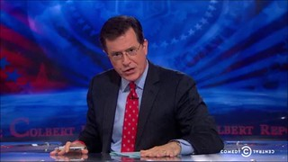 colbert roasts cheney part 1