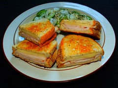 Grilled Smoked Chicken & Swiss Cheese Sandwich…