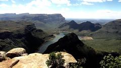 Dramatic Blyde River Canyon, Blyde River Canyon Nature Reserve, Mpumalanga, South Africa