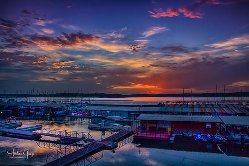 texas texashillcountry sigma2470mmf28 marina sunset blue lake canyonlaketexas summer