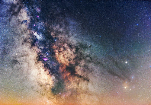 Milkyway Core & Rho Ophiuchi Cloud Complex