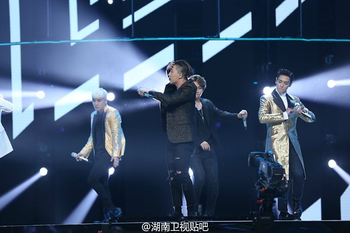 BIGBANG Hunan TV 2015-12-31 by 湖南卫视贴吧  (4)