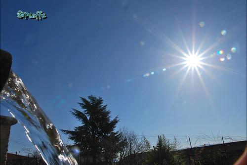 #buongiorno da #palazzello #lattarico #cosenza #calabria #sun #sole #fontana