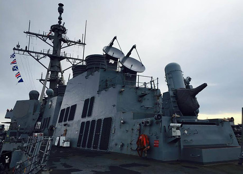 EVERETT, Wash. - The guided missile destroyer USS Shoup (DDG 86) departed Naval Station Everett for the first time since July 2014 to complete type commander (TYCOM) sea trials.